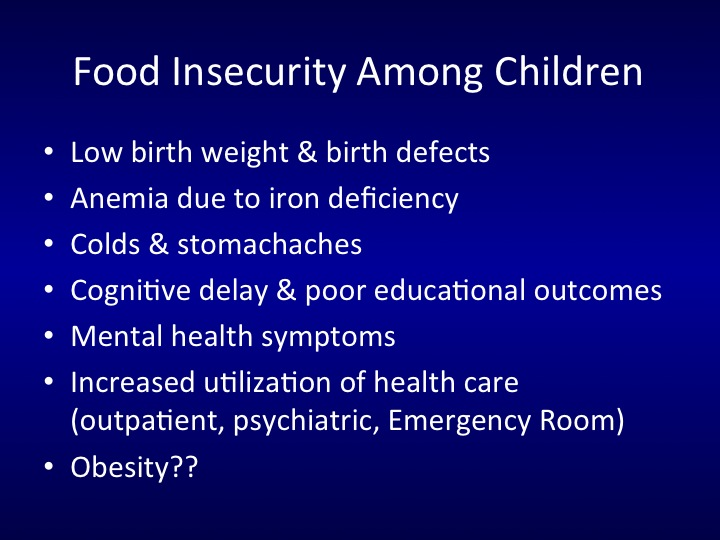 effects of food insecurity pdf
