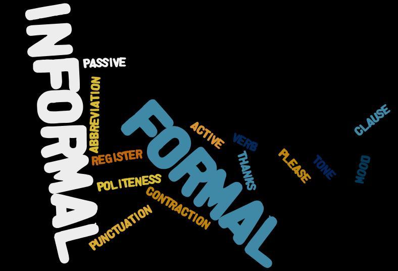 formal-informal