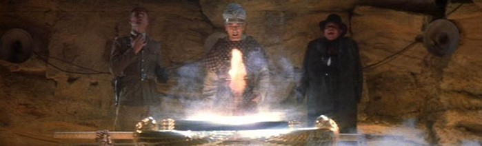 Hold on, Indiana Jones found the Holy Grail, and it didn't turn out too well for his German buddies...