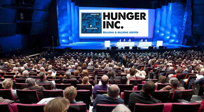Hunger inc shareholders meet