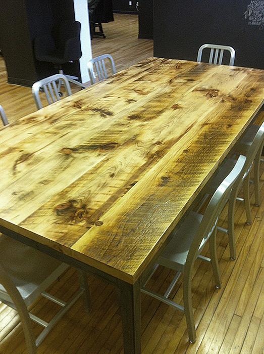 Lousy table, great ideas