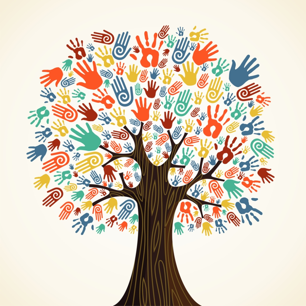 The Fundraising Tree of Many Hands